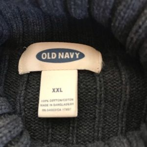 Old Navy Sweaters - Charcoal Grey Turtleneck Ribbed Sweater XXL